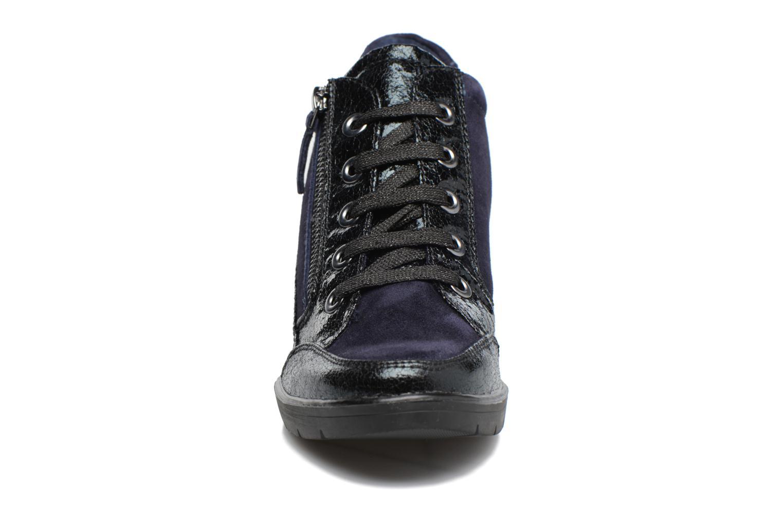 Baskets Tamaris Elmediz Bleu vue portées chaussures