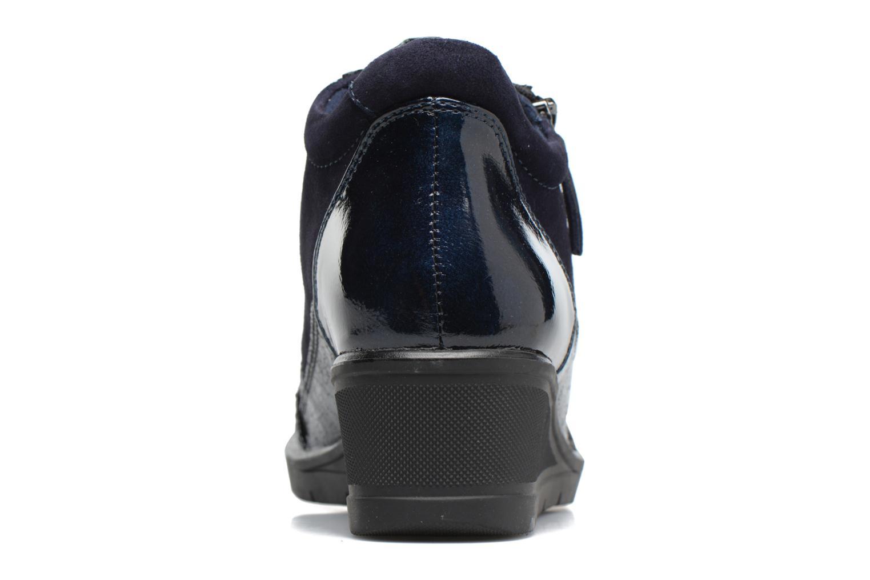 Sneakers Tamaris Elmediz Blauw rechts