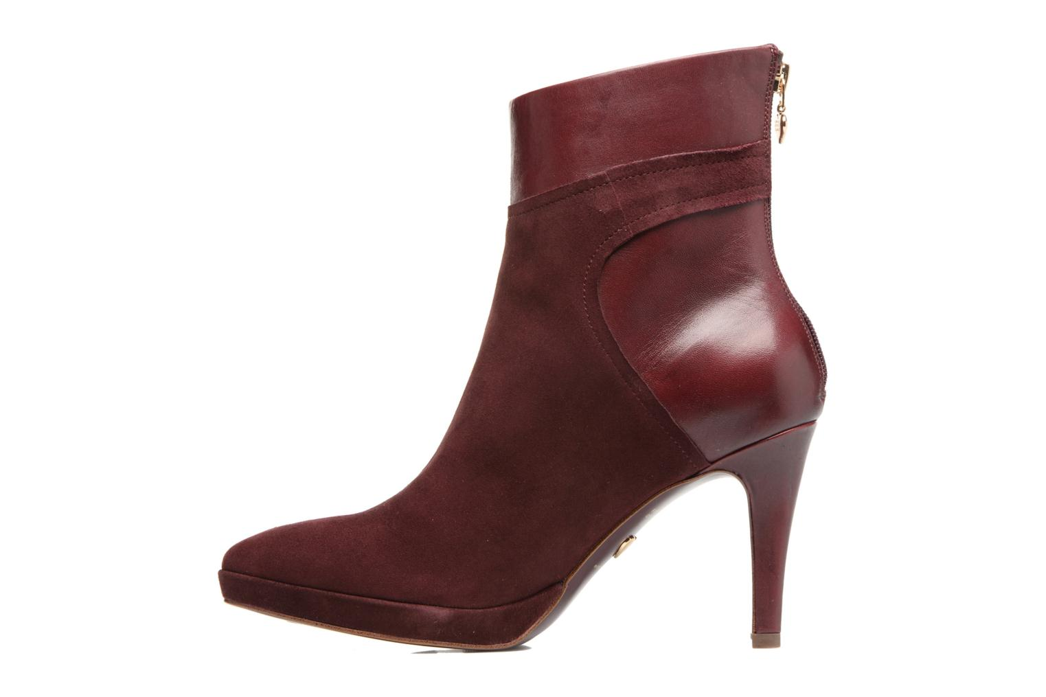 Bottines et boots Tamaris Inna Bordeaux vue face