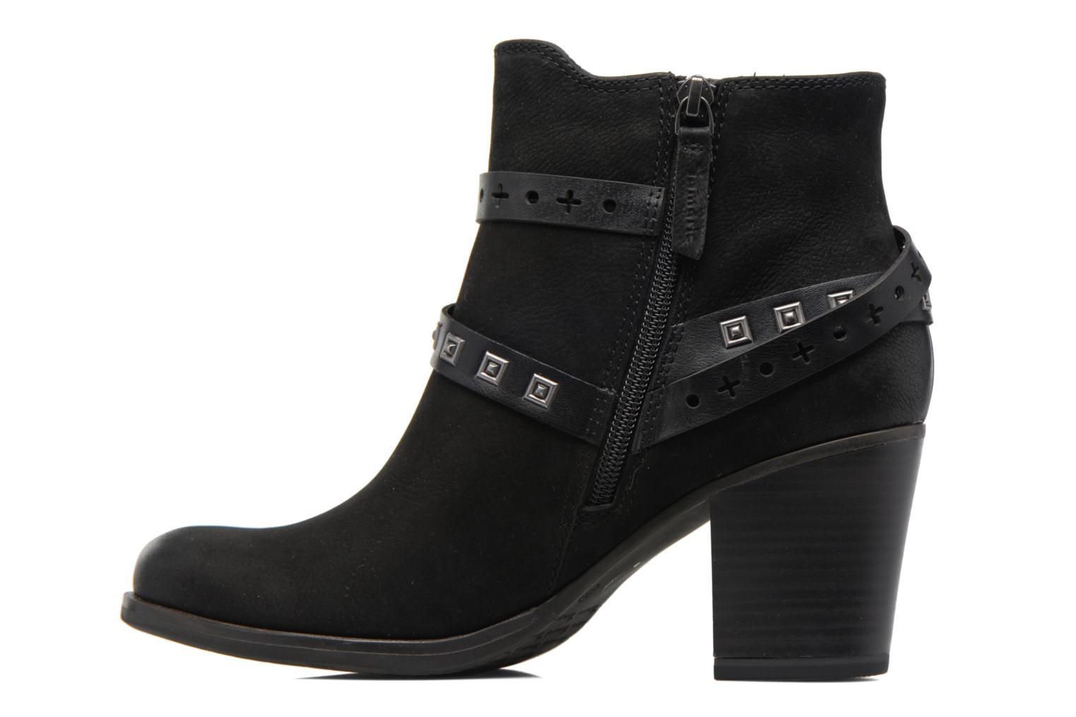 Boots en enkellaarsjes Tamaris Adenael Zwart voorkant
