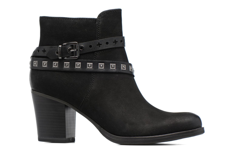 Boots en enkellaarsjes Tamaris Adenael Zwart achterkant