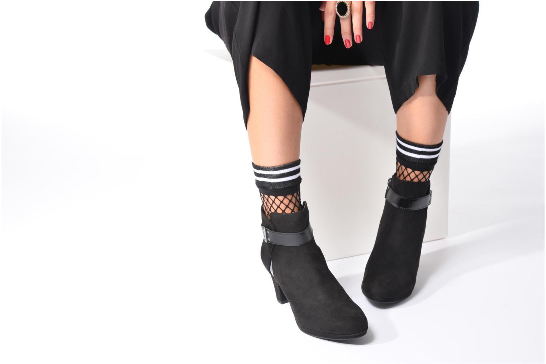 Bottines et boots Tamaris Astaldo Noir vue bas / vue portée sac