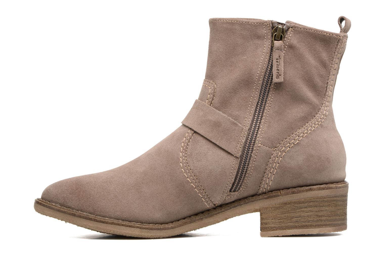 Boots en enkellaarsjes Tamaris Balani Beige voorkant