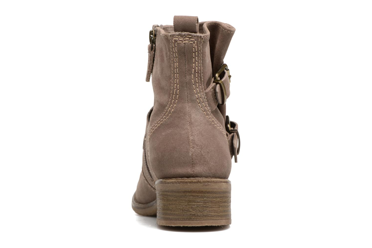 Ankle boots Tamaris Balani Beige view from the right