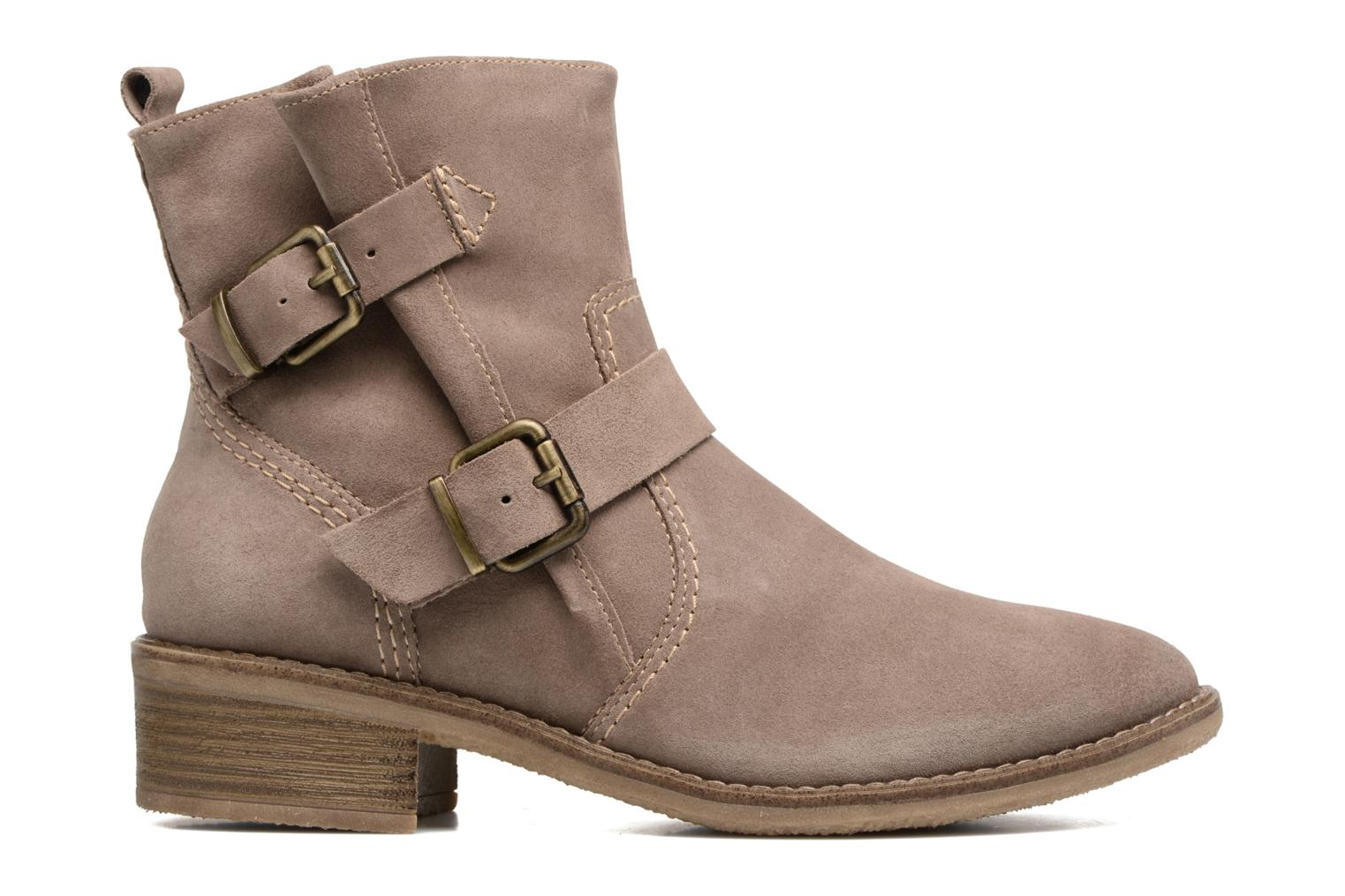 Ankle boots Tamaris Balani Beige back view