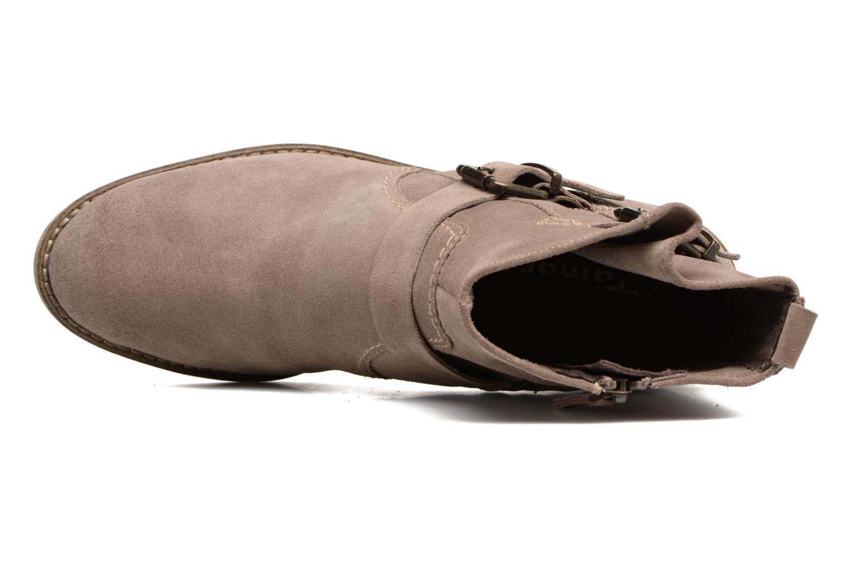 Bottines et boots Tamaris Balani Beige vue gauche
