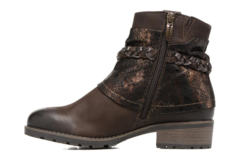 Bottines et boots Tamaris Calion Marron vue face