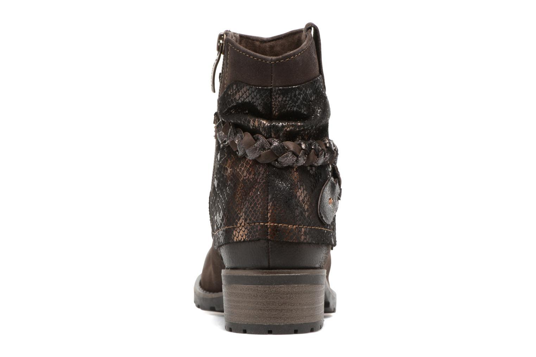 Bottines et boots Tamaris Calion Marron vue droite