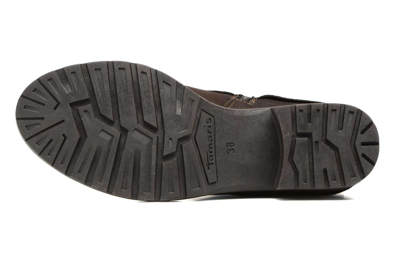 Bottines et boots Tamaris Calion Marron vue haut