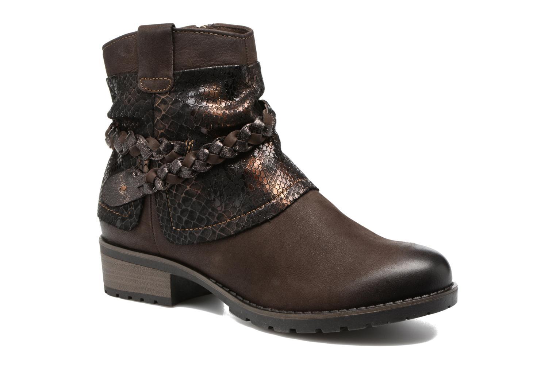 Boots en enkellaarsjes Tamaris Calion Bruin detail