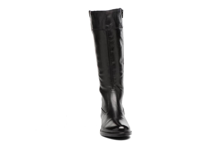 Bottes Tamaris Feanor Noir vue portées chaussures