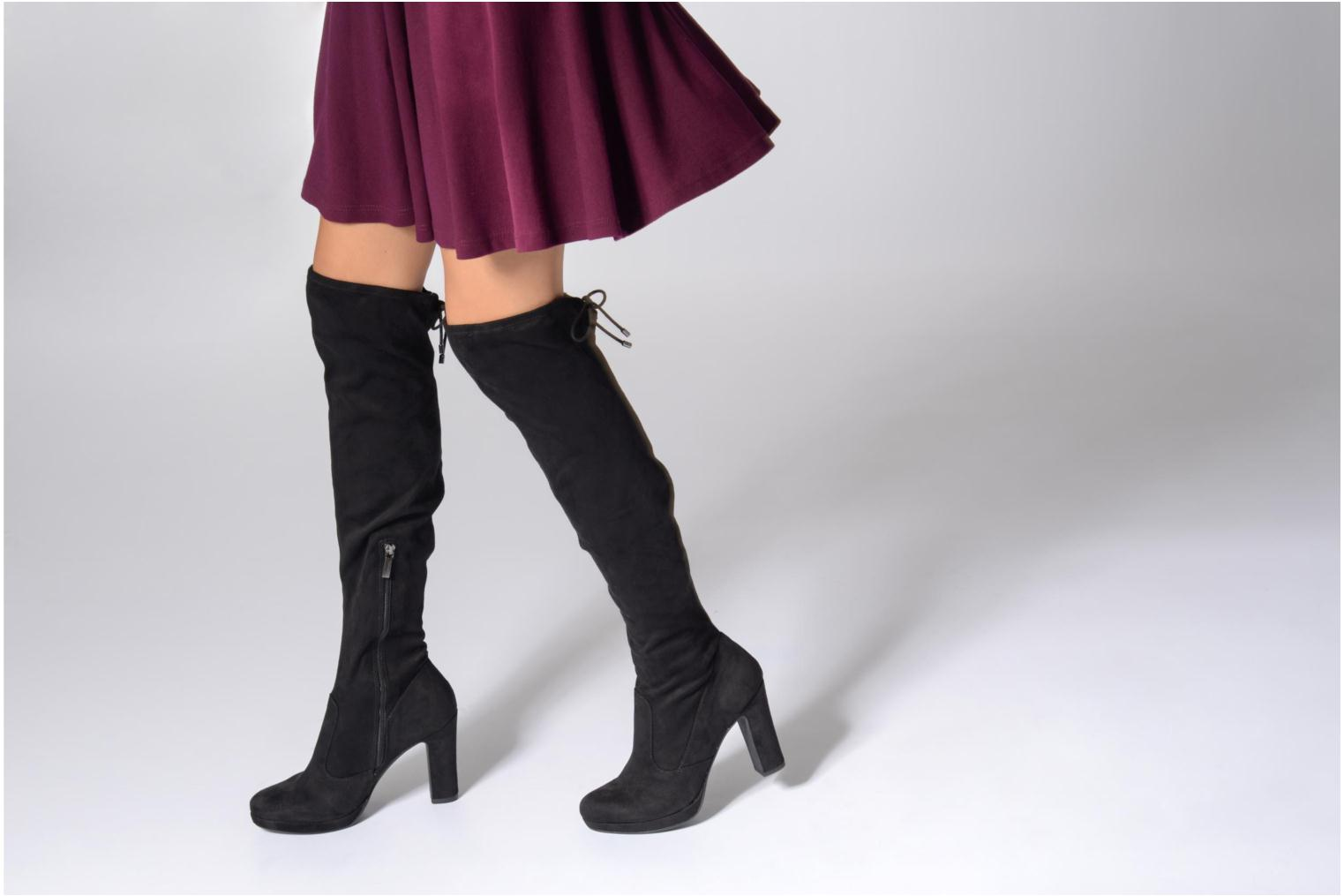 Boots & wellies Tamaris Lomia Black view from underneath / model view