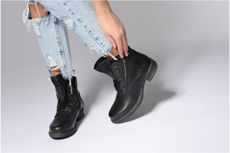 Bottines et boots Dockers Vika Noir vue bas / vue portée sac