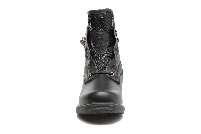 Bottines et boots Dockers Vika Noir vue portées chaussures