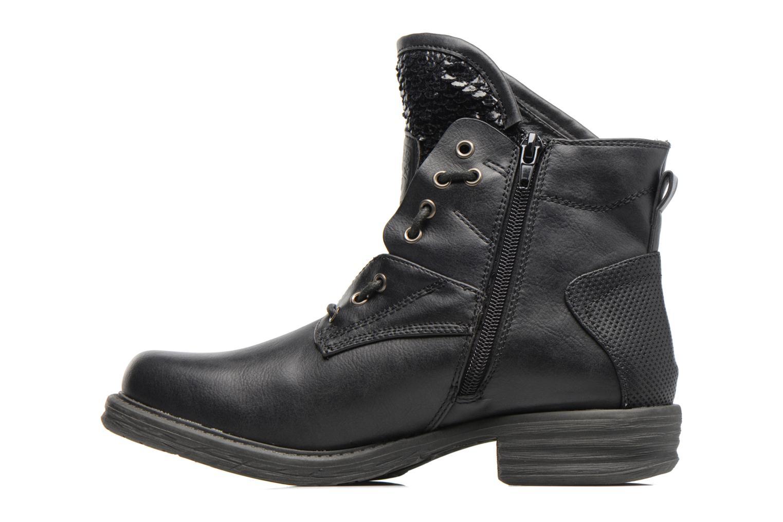 Bottines et boots Dockers Vika Noir vue face