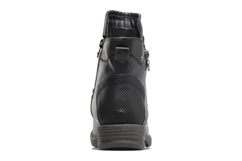 Bottines et boots Dockers Vika Noir vue droite
