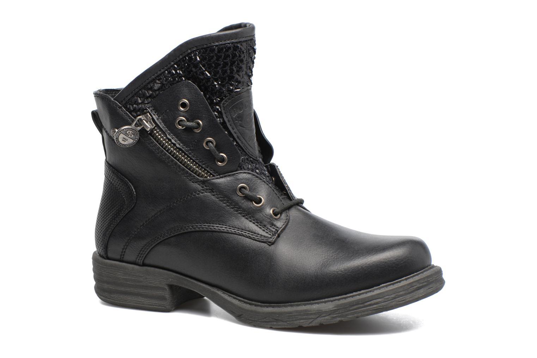Bottines et boots Dockers Vika Noir vue détail/paire