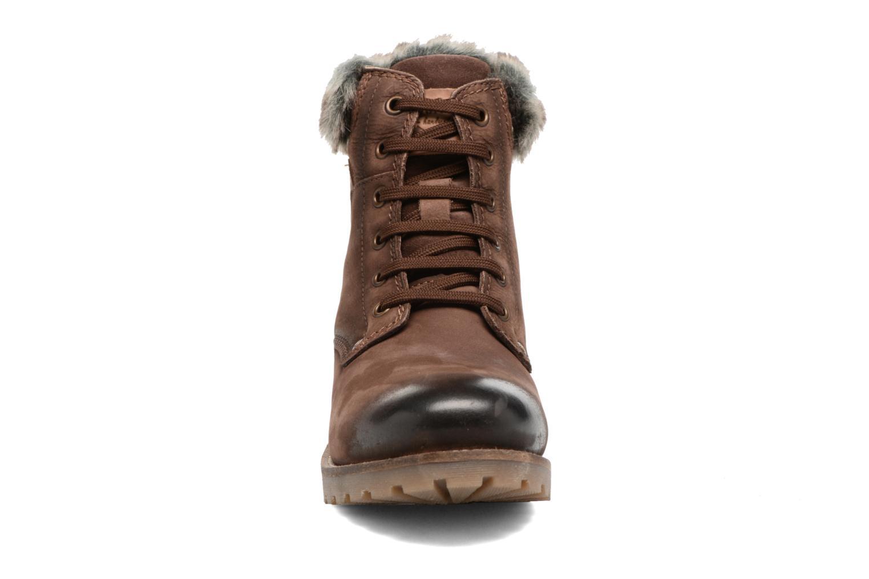 Bottines et boots Dockers Finn Marron vue portées chaussures