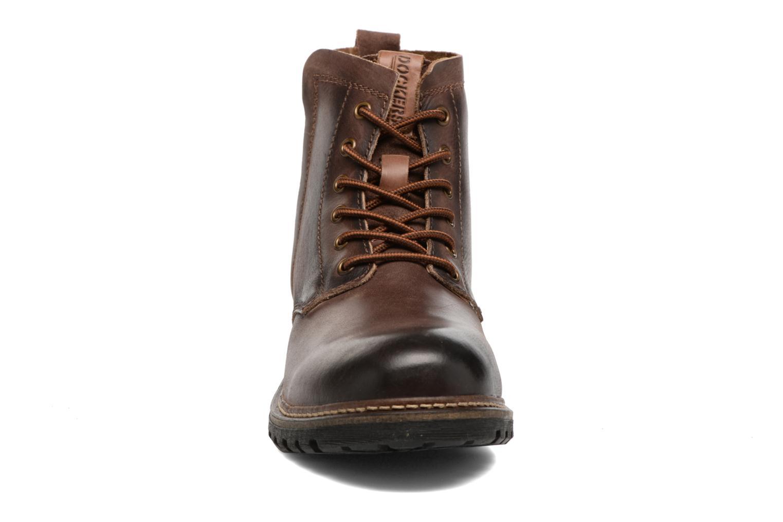 Bottines et boots Dockers Otto Marron vue portées chaussures