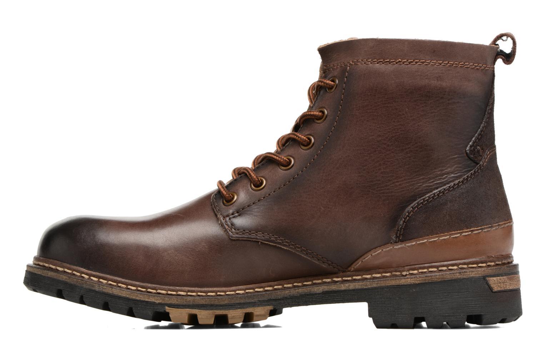 Bottines et boots Dockers Otto Marron vue face