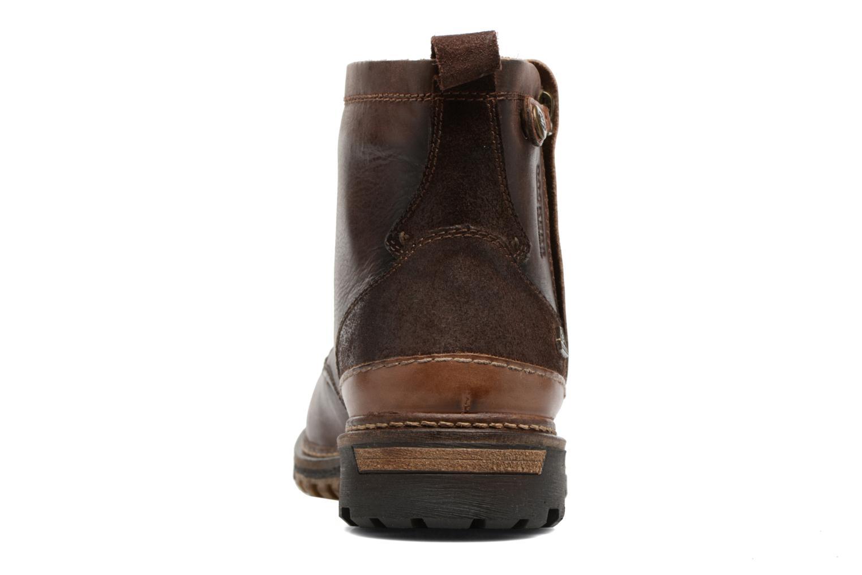 Bottines et boots Dockers Otto Marron vue droite