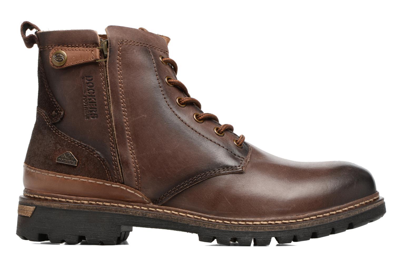 Bottines et boots Dockers Otto Marron vue derrière