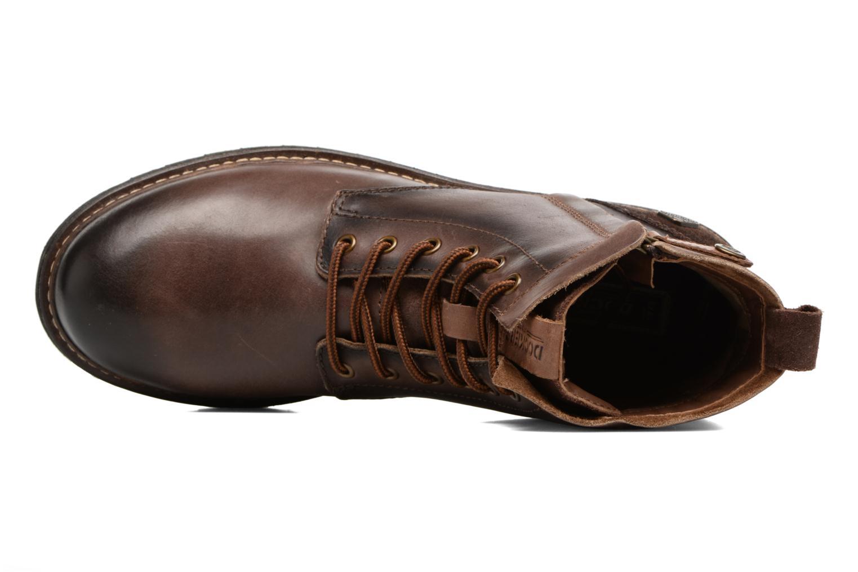 Bottines et boots Dockers Otto Marron vue gauche