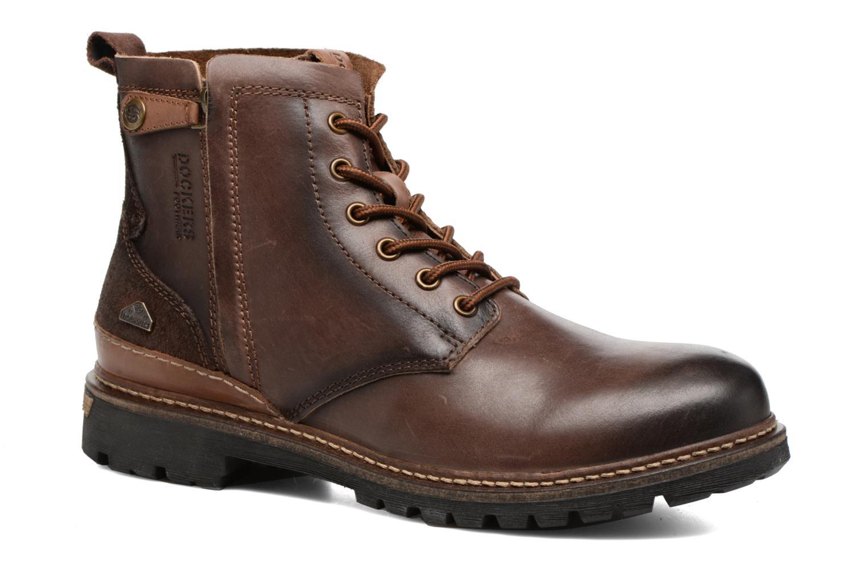 Bottines et boots Dockers Otto Marron vue détail/paire