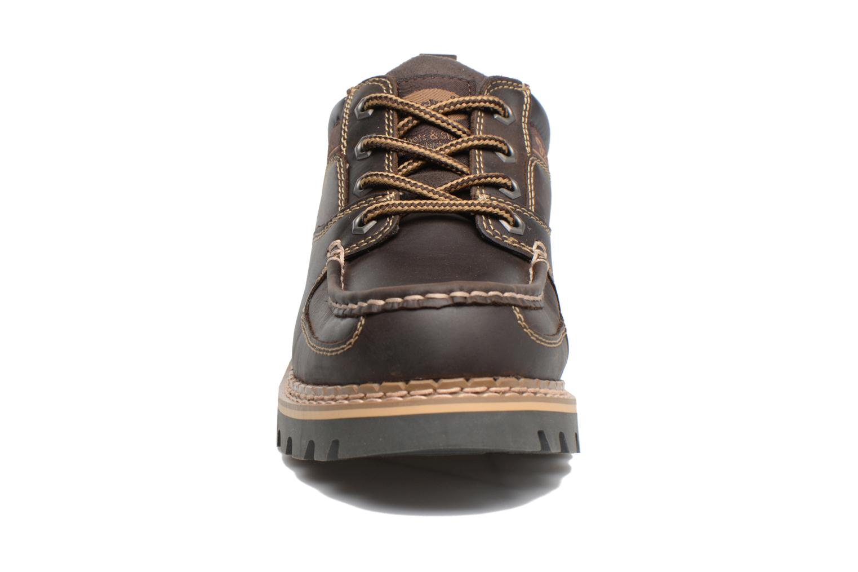 Chaussures à lacets Dockers Fritz Marron vue portées chaussures