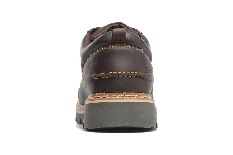Chaussures à lacets Dockers Fritz Marron vue droite