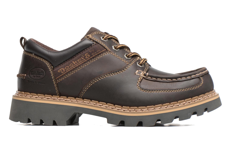 Chaussures à lacets Dockers Fritz Marron vue derrière