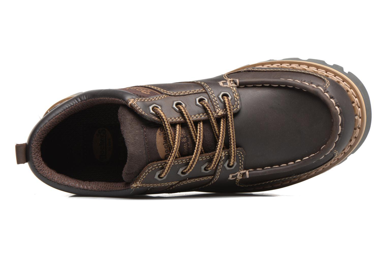 Chaussures à lacets Dockers Fritz Marron vue gauche
