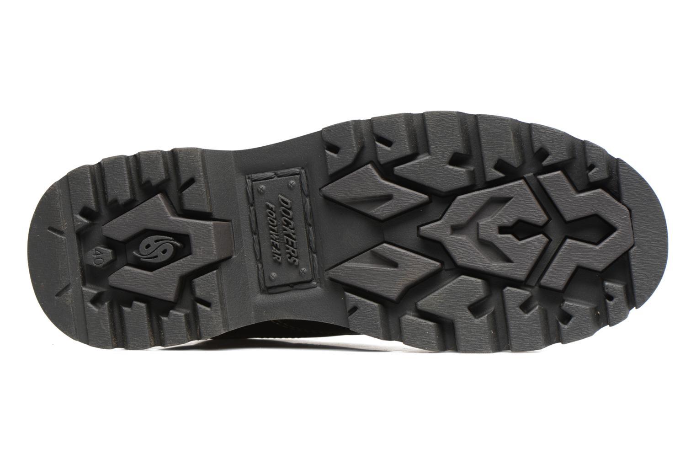 Chaussures à lacets Dockers Fritz Marron vue haut