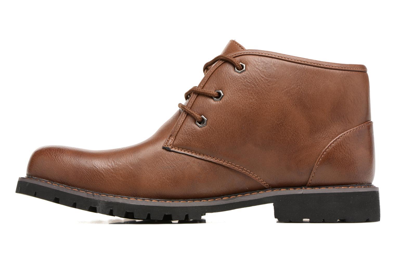 Bottines et boots I Love Shoes BAUDOUIN Marron vue face