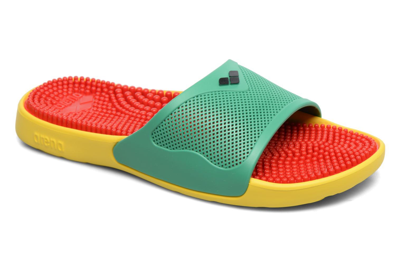 Chaussures de sport Arena Marco X Grip Box+Hook Multicolore vue détail/paire