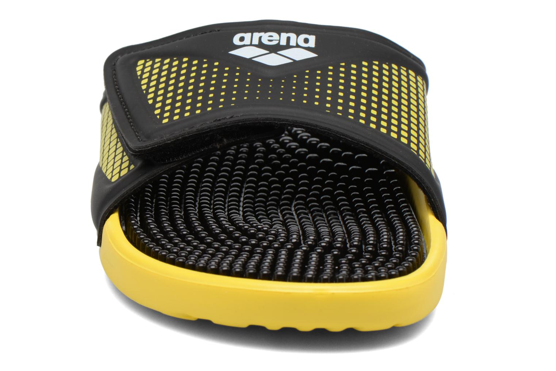 Chaussures de sport Arena Marco Velcro Hook Noir vue portées chaussures