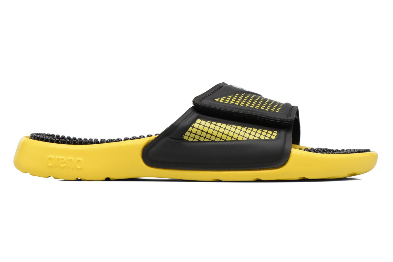 Chaussures de sport Arena Marco Velcro Hook Noir vue derrière