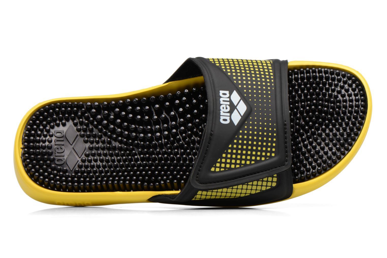 Chaussures de sport Arena Marco Velcro Hook Noir vue gauche