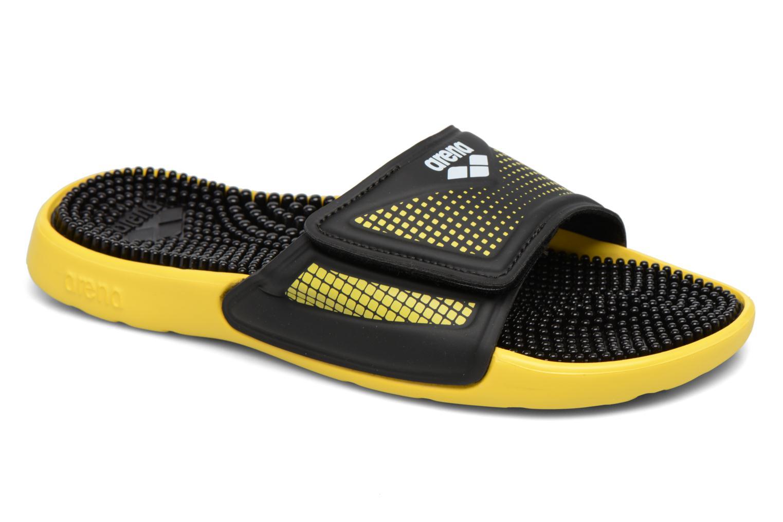 Chaussures de sport Arena Marco Velcro Hook Noir vue détail/paire