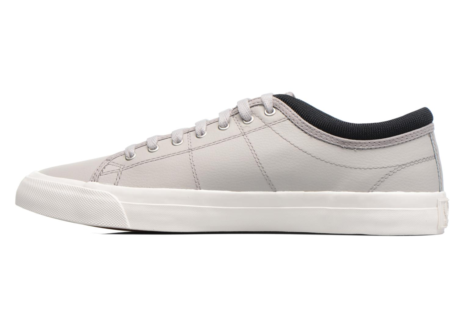 Baskets Fred Perry Kendrick Reversed Tipped Cuff Leather Gris vue face