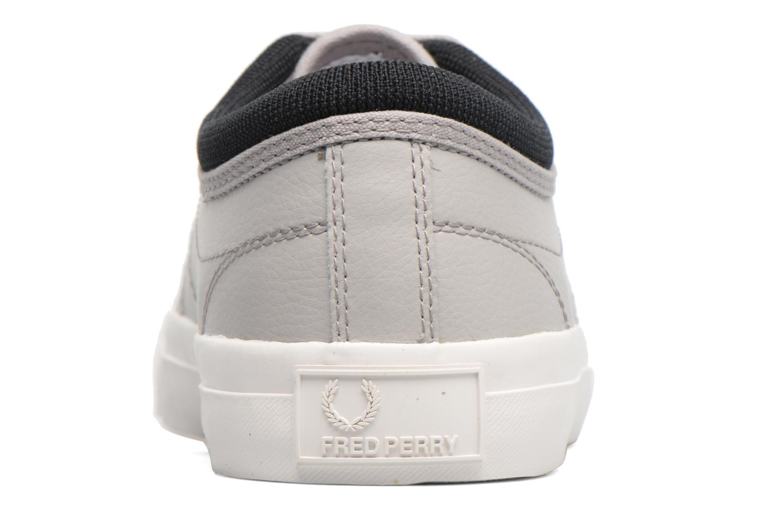 Baskets Fred Perry Kendrick Reversed Tipped Cuff Leather Gris vue droite