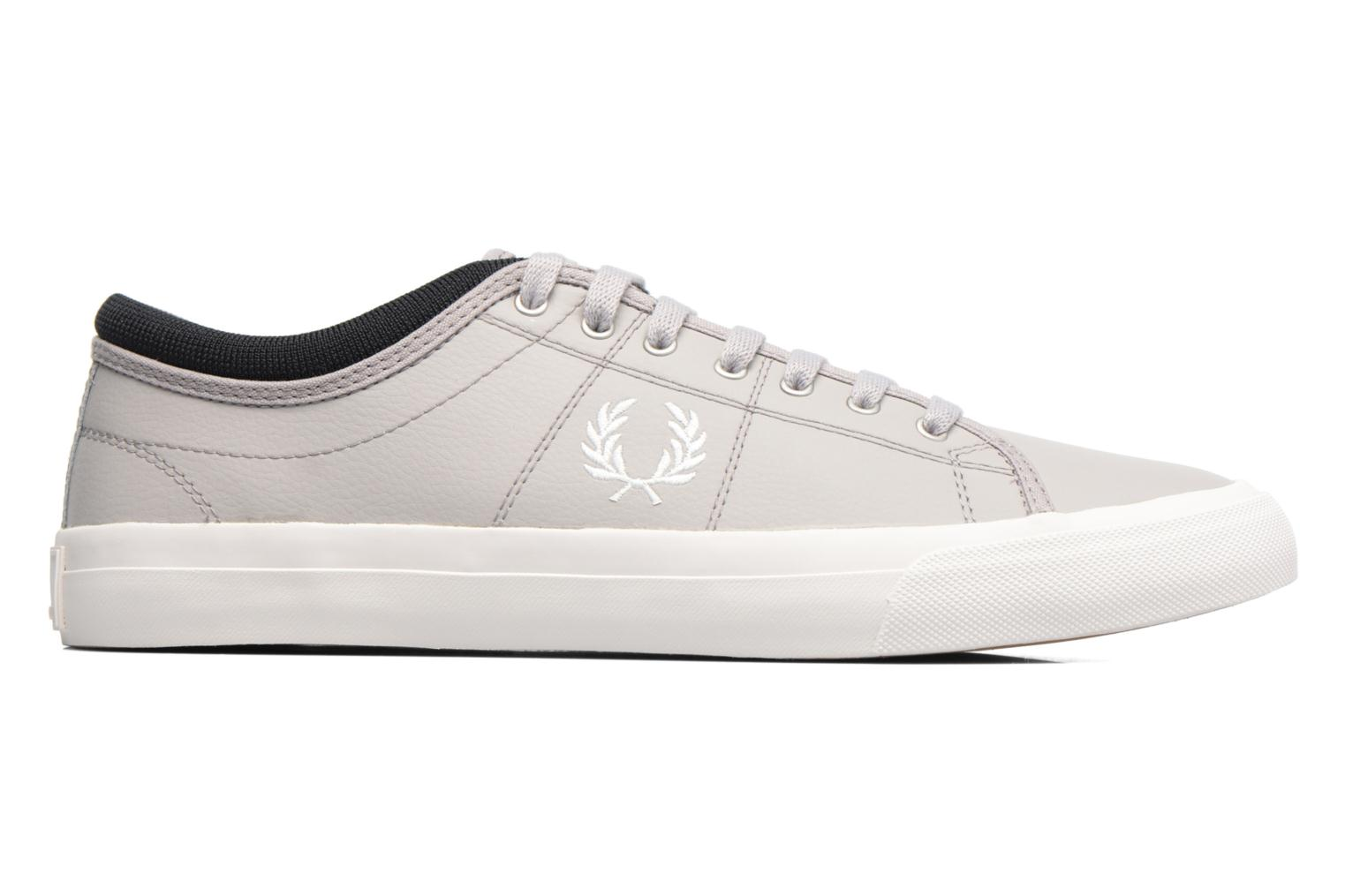 Baskets Fred Perry Kendrick Reversed Tipped Cuff Leather Gris vue derrière
