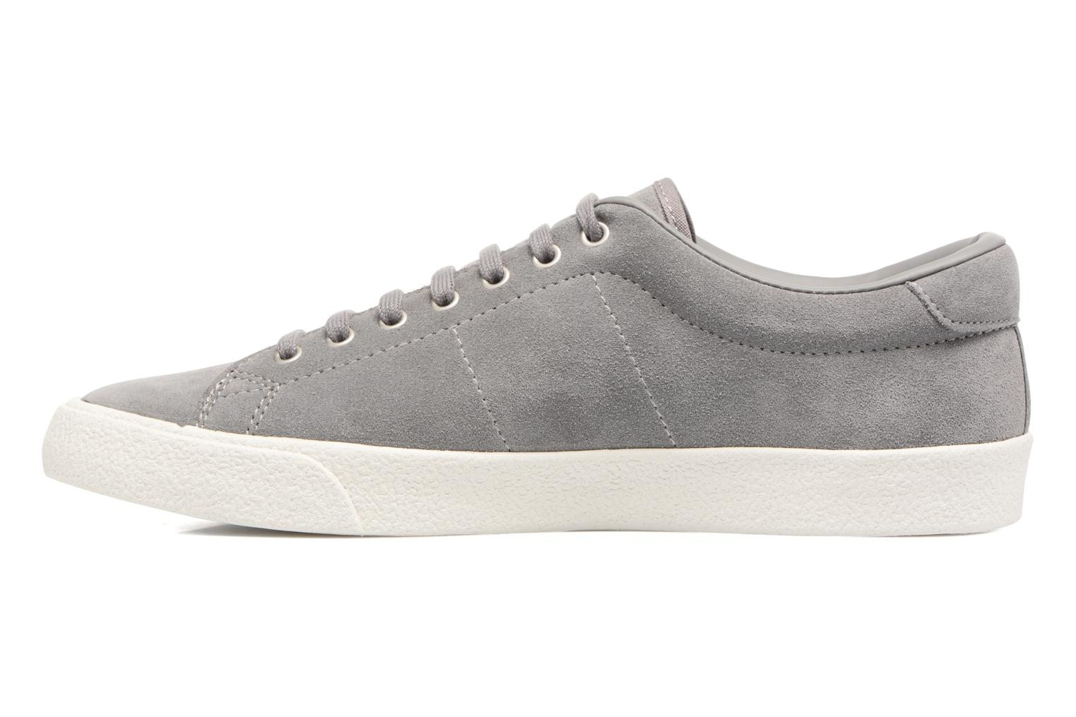Baskets Fred Perry UNDERSPIN SUEDE Gris vue face