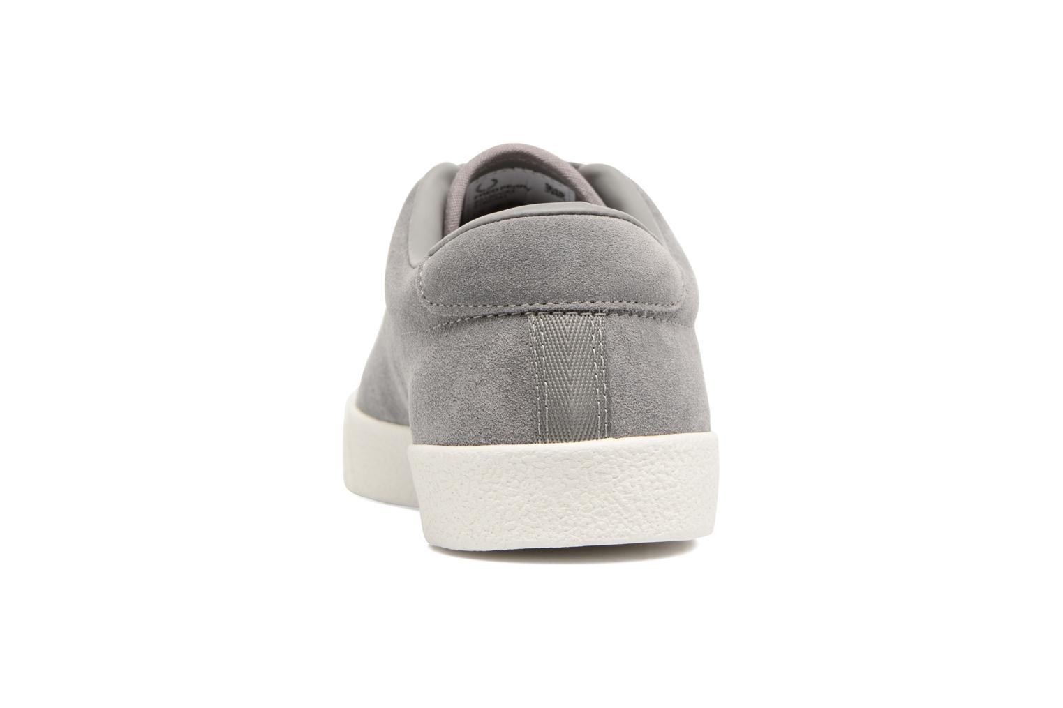 Baskets Fred Perry UNDERSPIN SUEDE Gris vue droite