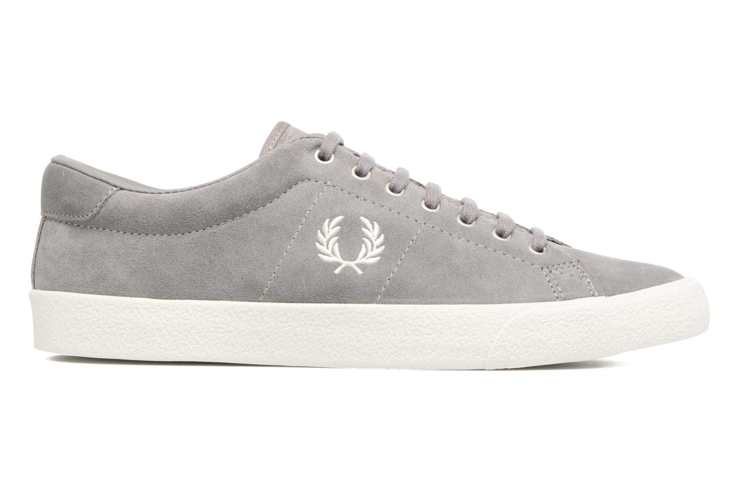 Baskets Fred Perry UNDERSPIN SUEDE Gris vue derrière