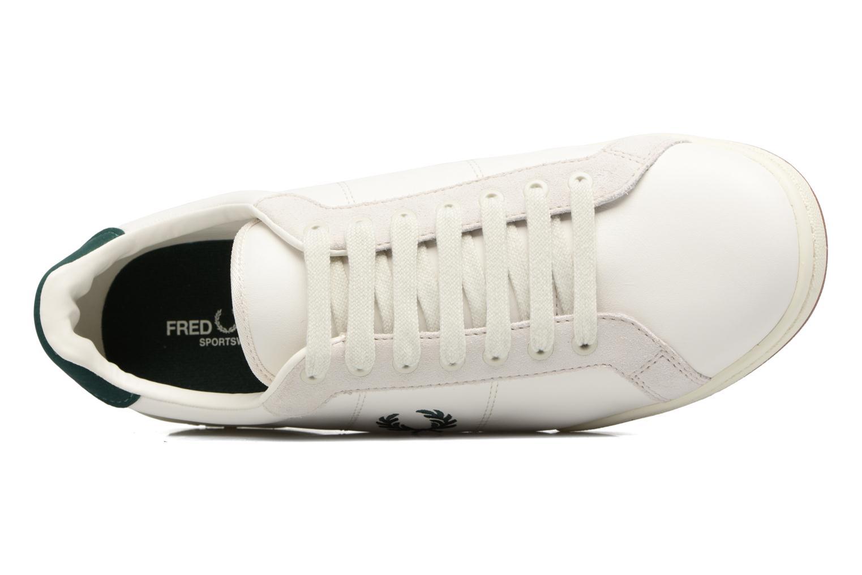 Baskets Fred Perry B722 Blanc vue gauche