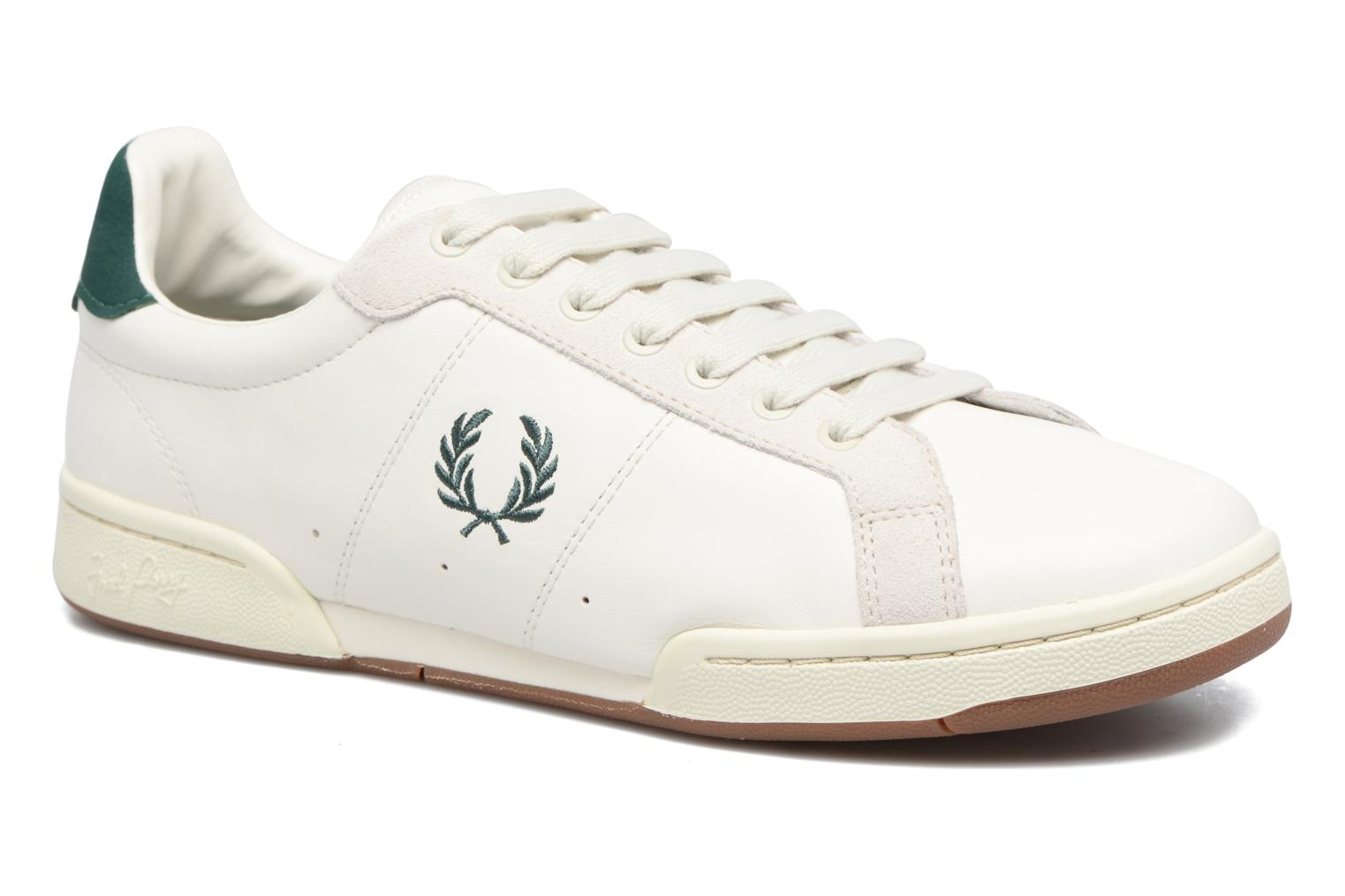 Baskets Fred Perry B722 Blanc vue détail/paire