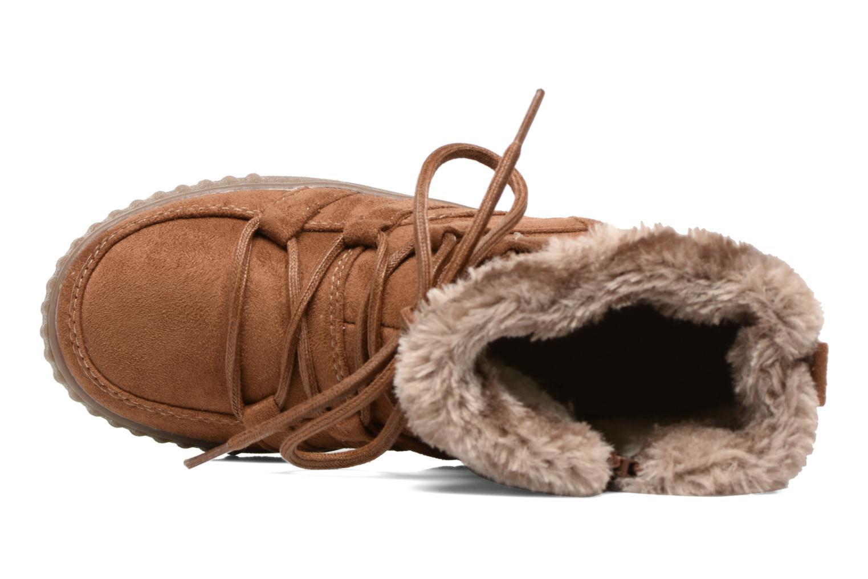 Botines  I Love Shoes SINCENTE Marrón vista lateral izquierda
