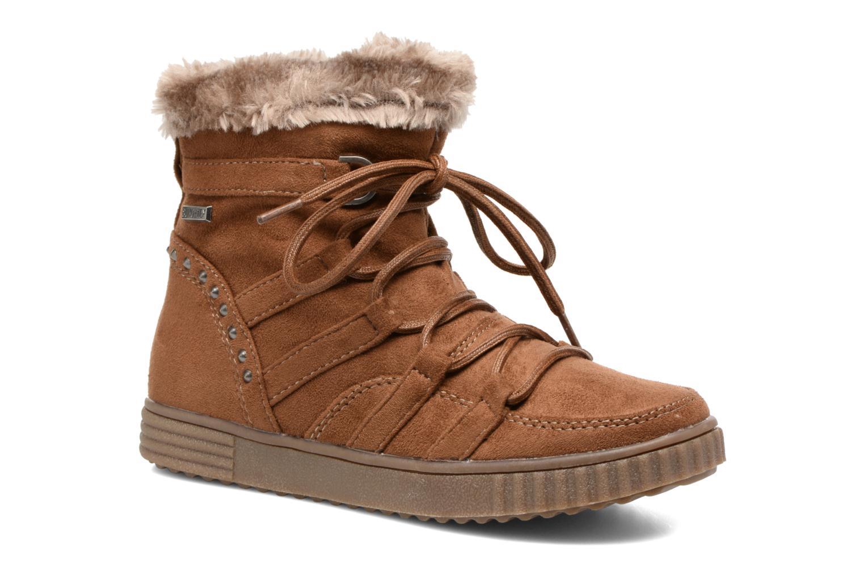 Bottines et boots I Love Shoes SINCENTE Marron vue détail/paire