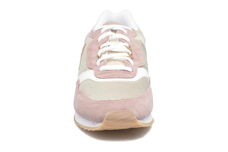 Baskets Le Coq Sportif Louise Rose vue portées chaussures